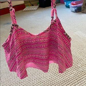 a bathing suit top